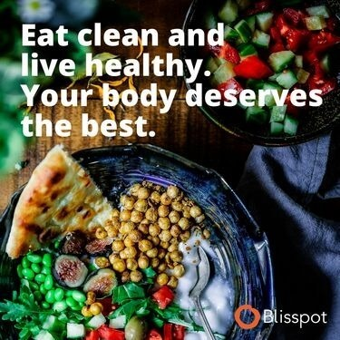 Eat clean and live healthy. Your body deserves the best.