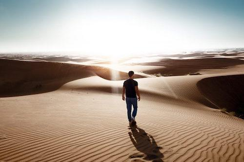 Dream in Desert