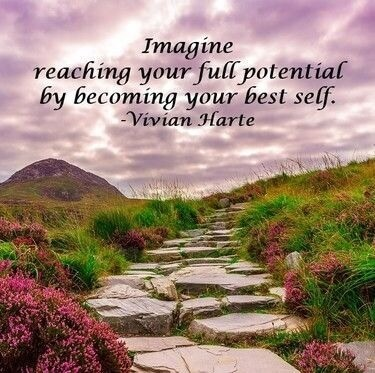 Imagine reaching your full potential by becoming your best self.