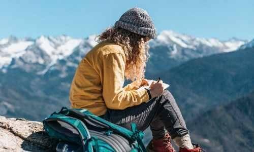 empowerment, woman writing