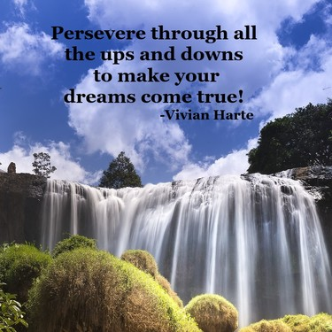 Persevere to Make Your Dreams Come True