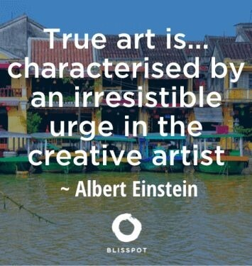 True art is...characterised by an irresistible urge in the creative artist.