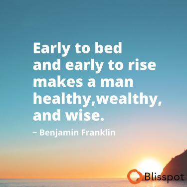 Early Sleep