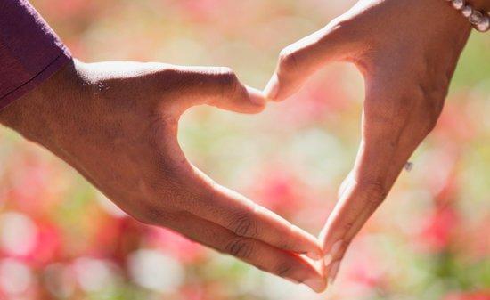 hands making a heart, love