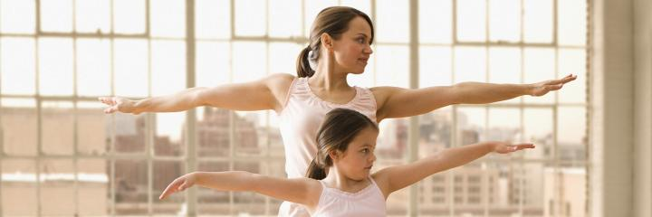 Exercise with your Child to Deepen your Bond