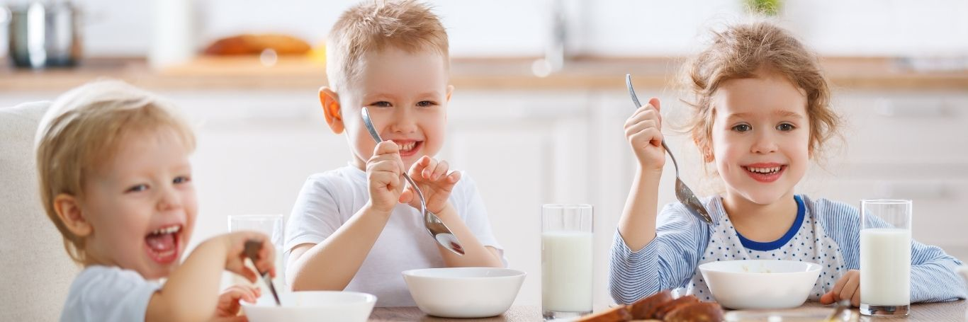 Help Your Children Develop a Healthy Relationship with Food